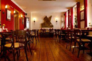 Restaurant Sandmann Innenansicht